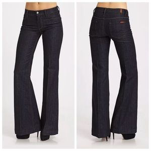 7 For All Mankind Wide Flare Bell Bottom Jeans 29